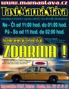 Taxi pro naše zákazníky zadarmo